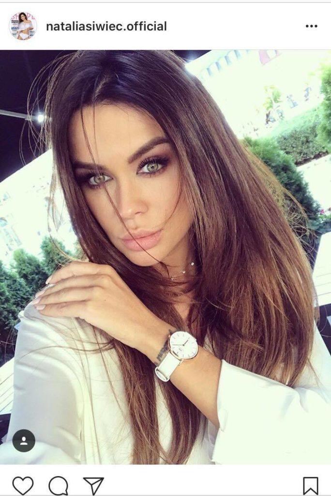 Printscreen instagram Natalia Siwiec @nataliasiwiec.official