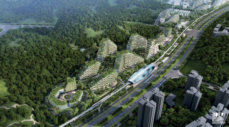 Zielone Miasto zdj. Stefano Boeri Architetti