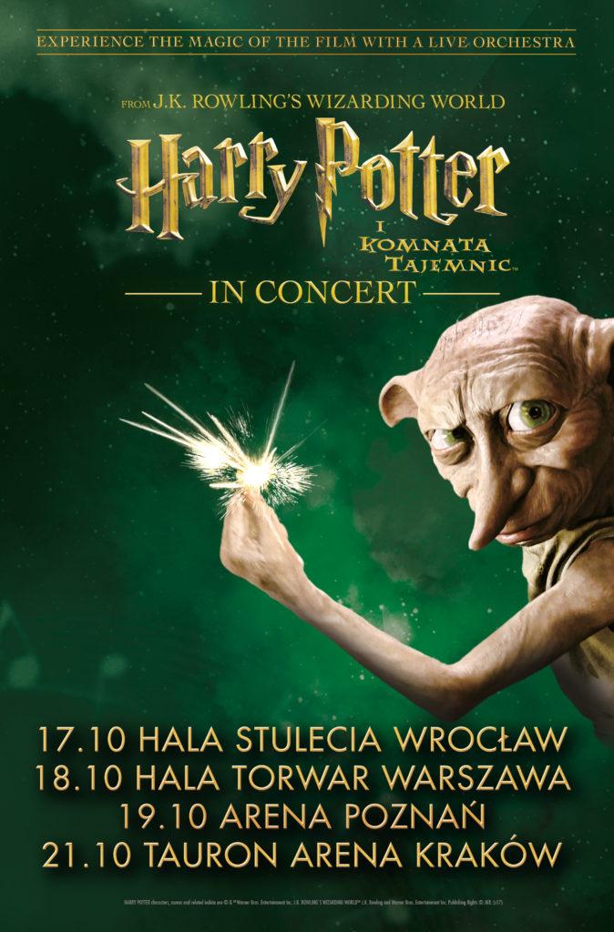 plakat Harry Potter i Komnata Tajemnic
