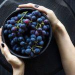 maseczka z winogrona