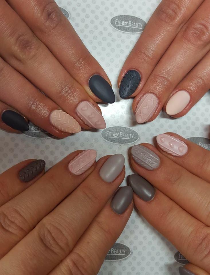 Trendy manicure z Salonu Fit&Beauty
