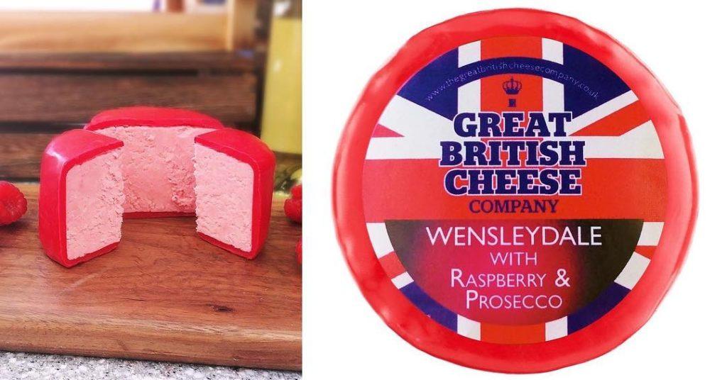 Różowy ser z prosecco i malinami - smakowity kąsek dla wielbicieli bąbelków