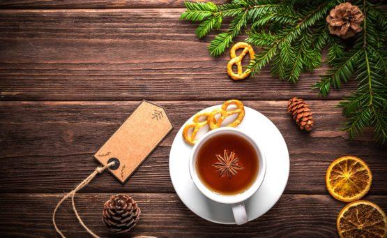 Rozgrzewająca herbata rewelacyjna na zimowe dni