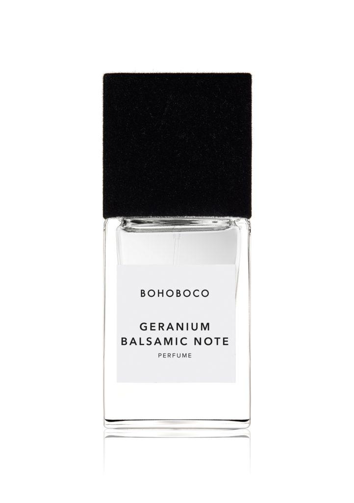 zdj. BOHOBOCO Perfume Geranium Balsamic Note