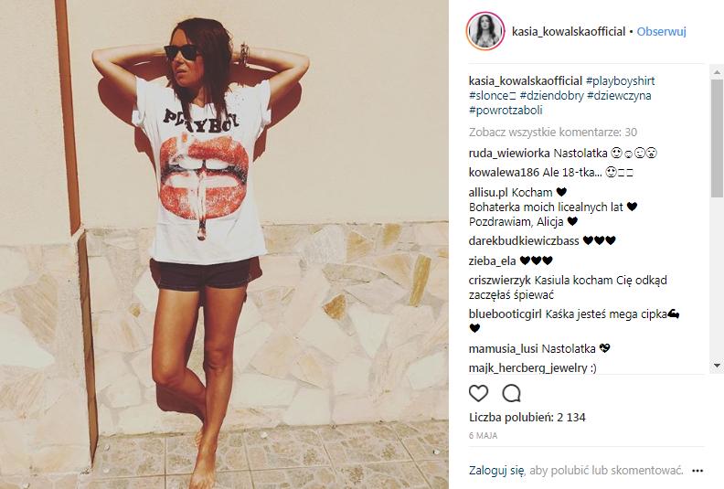 źródło printscreen instagram @kasia_kowalskaofficial