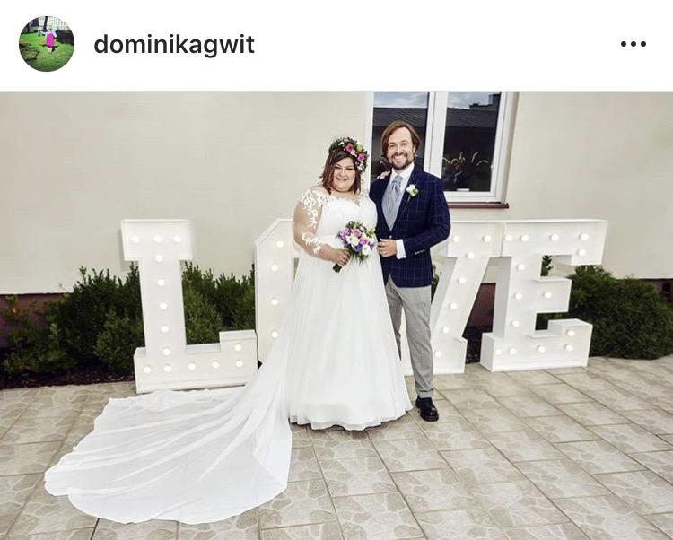 Dominika Gwit i jej małżonek, zdjęcie prinscreen instagram @dominikagwit