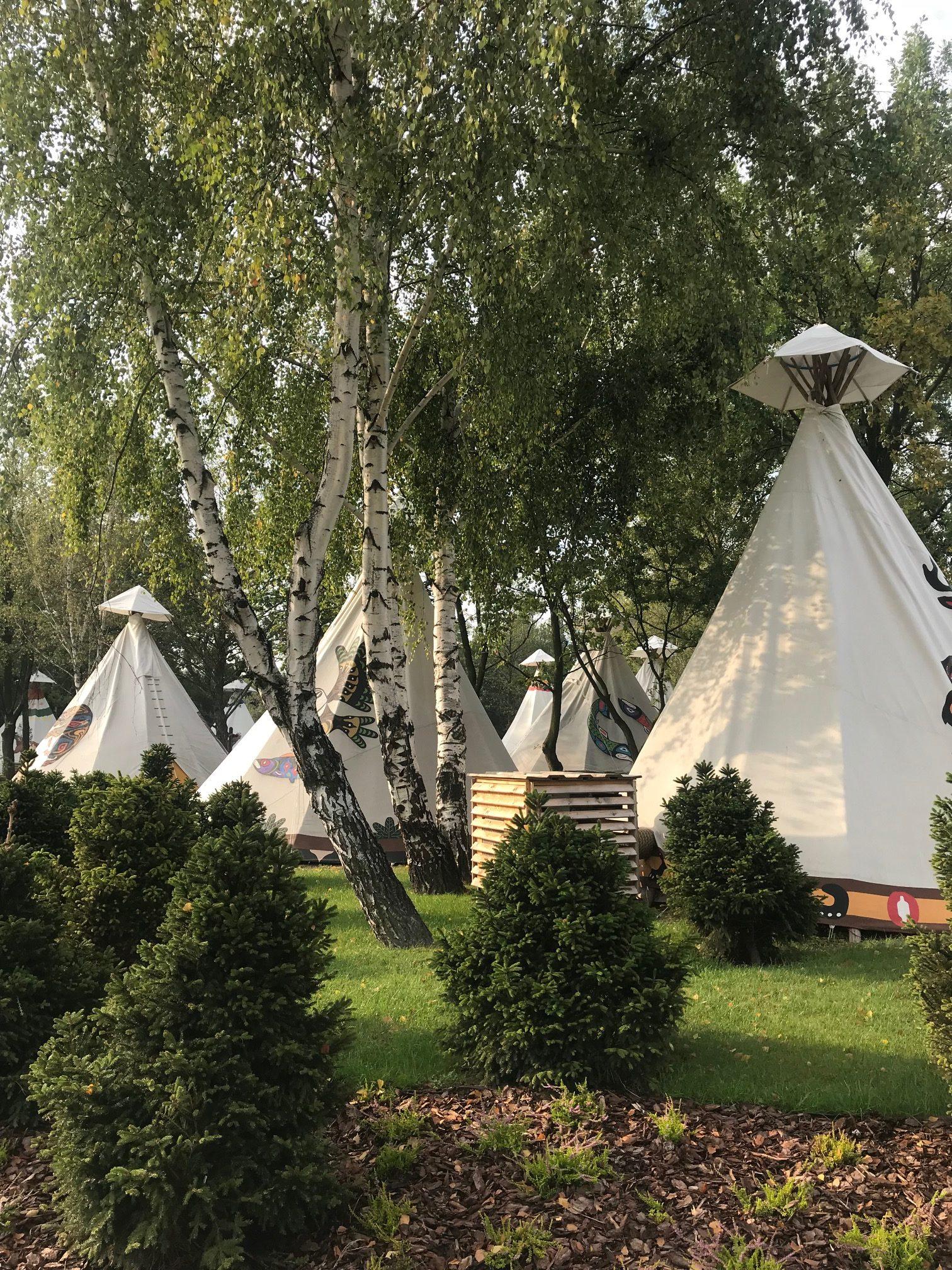 Namiot Tipi w Western Camp