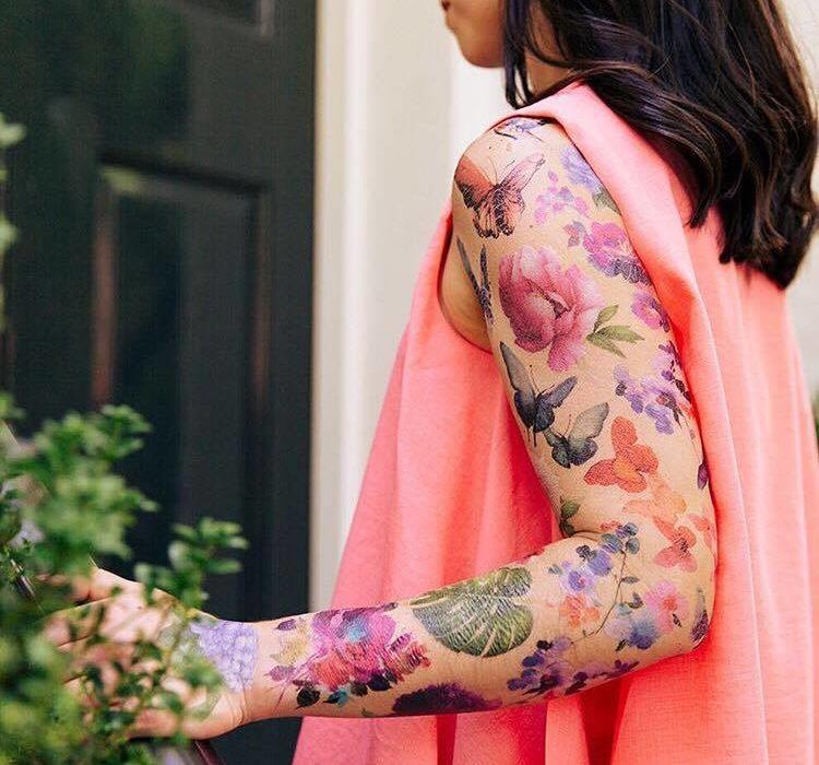 Niesamowite Tatuaże Autorstwa Francuskiego Malarza Które