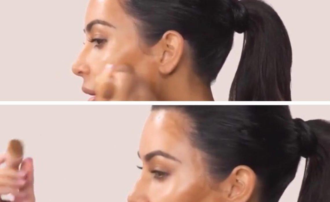 Kim Kardashian Wrzuca Film Na Youtube Jak Robi Makijaż A Film Ma