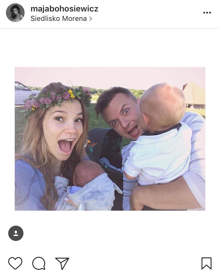 Maja Bohosiewicz/ zdjęcie instagram