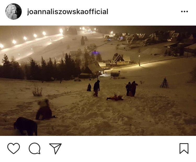 zdj. printscreen instagram @joannaliszowskaofficial