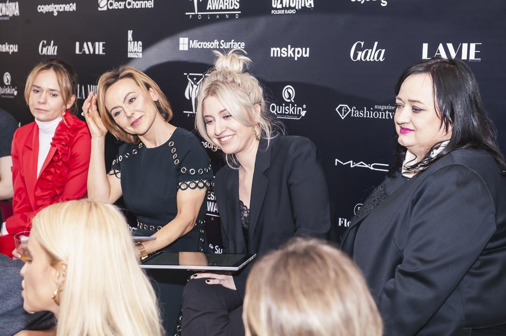 Fashion Designer Awards jury: Zuzanna Wachowiak, Joanna Sokołowska- Pronobis, Natalia Hołownia, Gosia Baczyńska