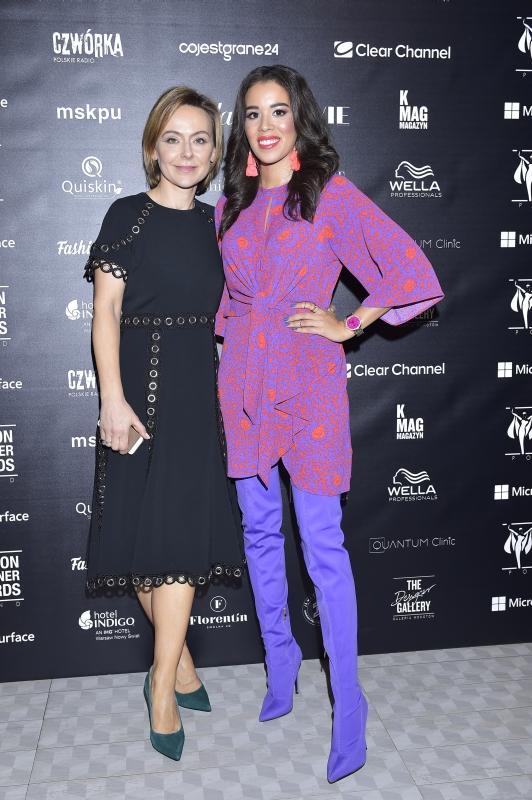 Fashion Designer Awards Joanna Sokołowska- Pronobis z Macademian Girl, fot. Jacek Kurnikowski/AKPA