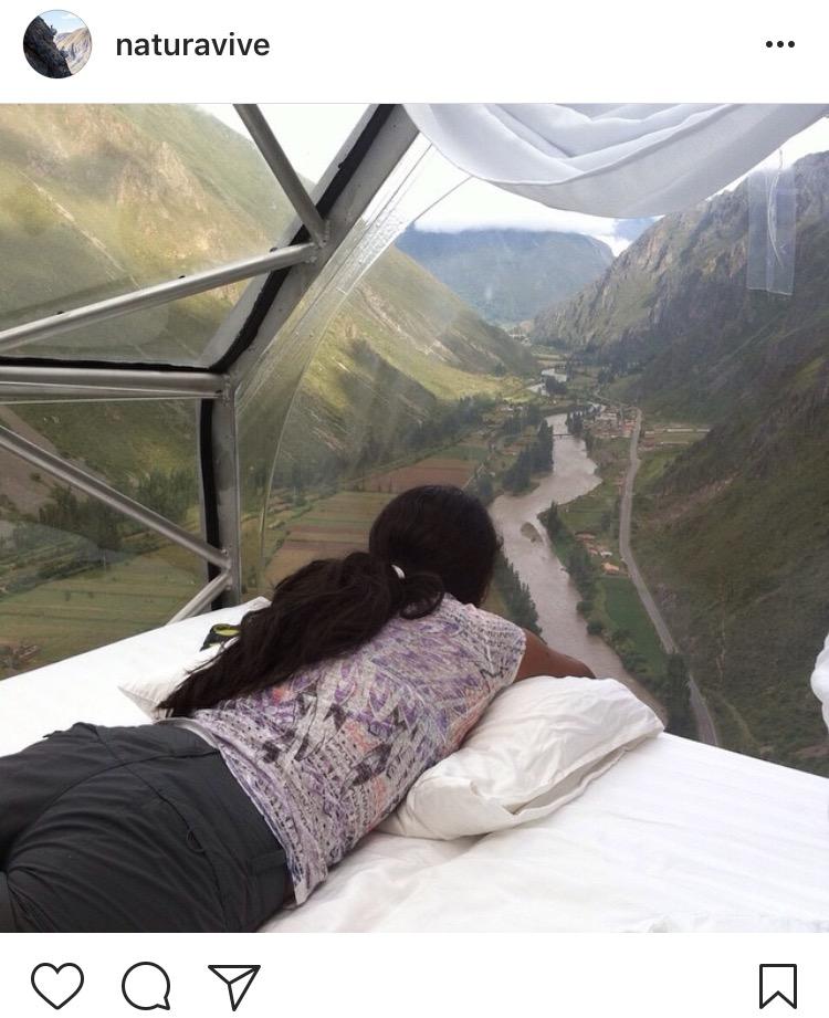 Cusco w Peru- nocleg w kopułach
