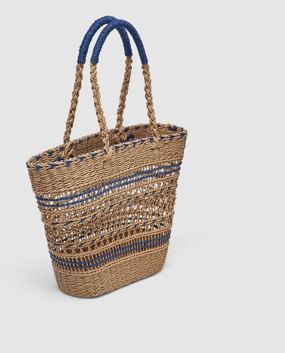 Plecione torby i wiklinowe koszyki to niezbędne dodatki garderoby tego lata