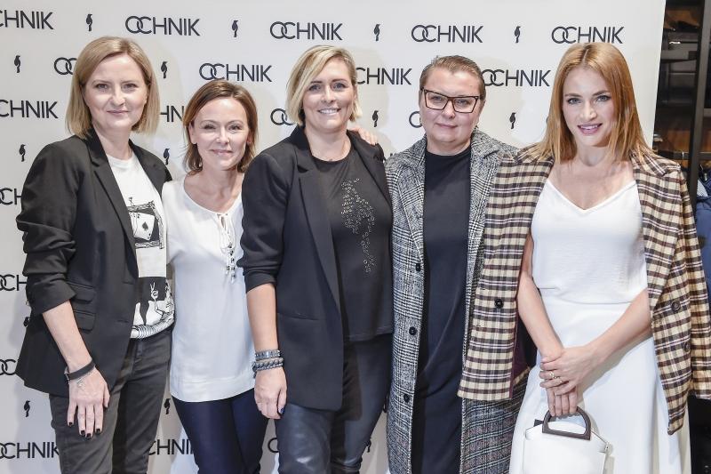 otwarcie salonu Ochnik Izabela Kuna, Joanna Pronobis, Anna Męczyńska, Anna Dereszowska, fot. Jacek Kurnikowski/AKPA