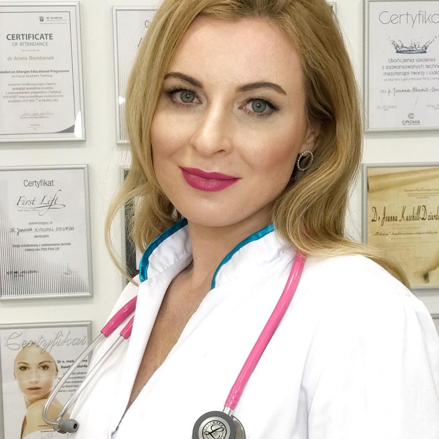 dr n. med Joanny Kuschill- Dziurd