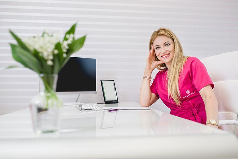 dr n. med. Joanna Kuschill- Dziurda - dyrektor medyczny Medestetis