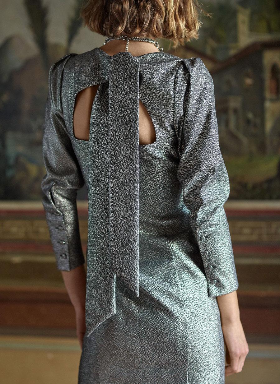 Propozycje sukienek na Sylwestra- Uterque