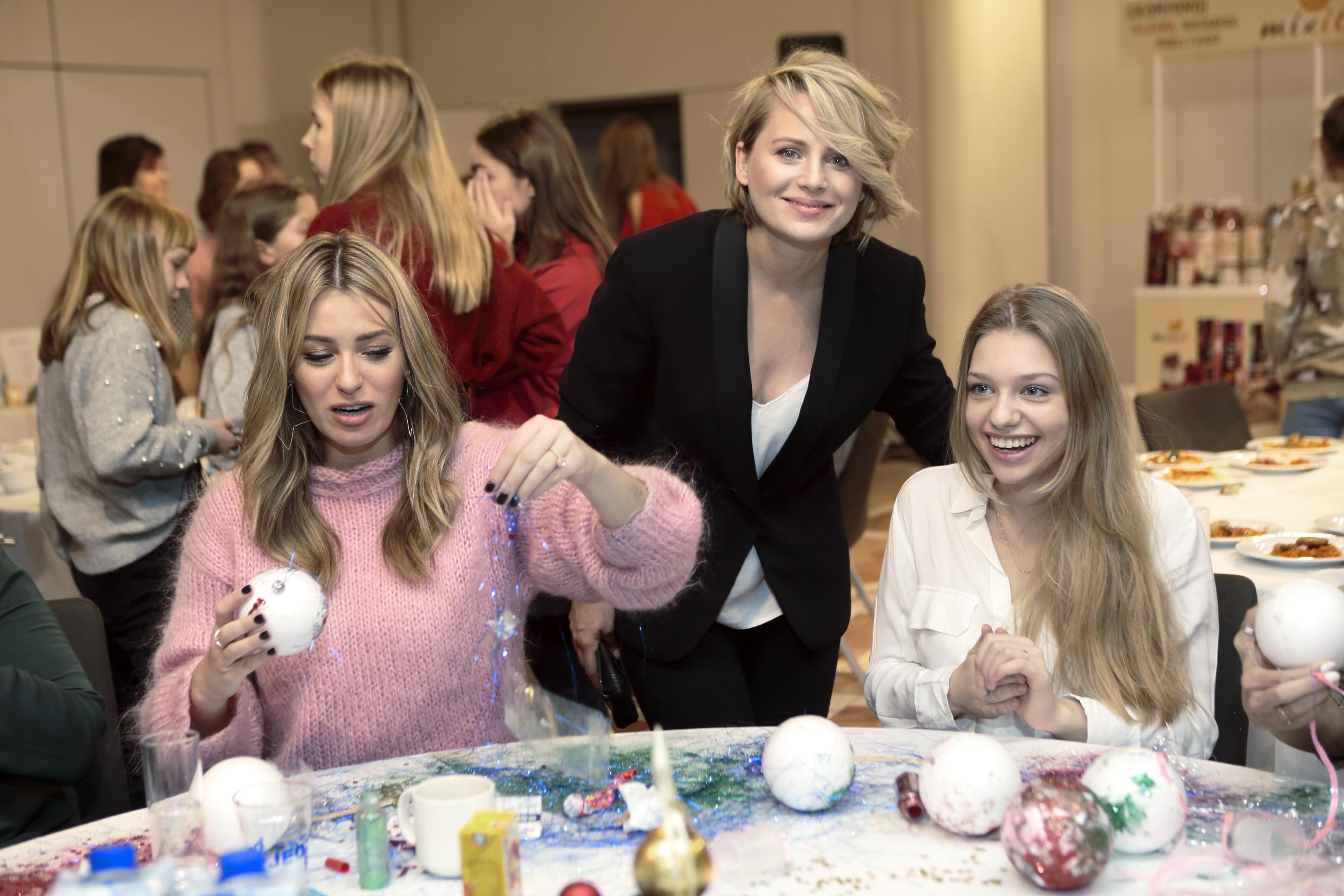 Marcelina Zawadzka, Paulina Chruściel, Nicole Bogdnowicz