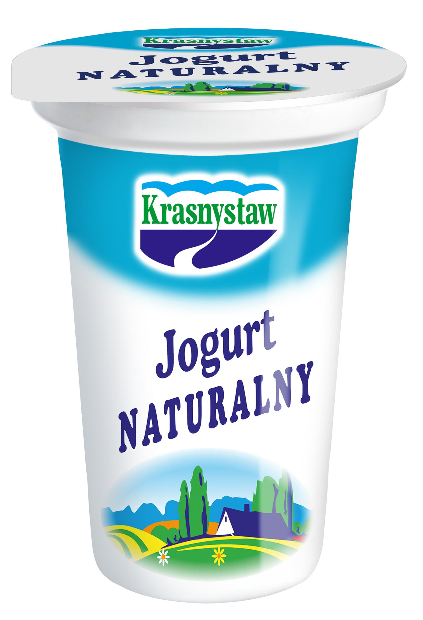 Jogurt naturalny OSM KRASNYSTAW