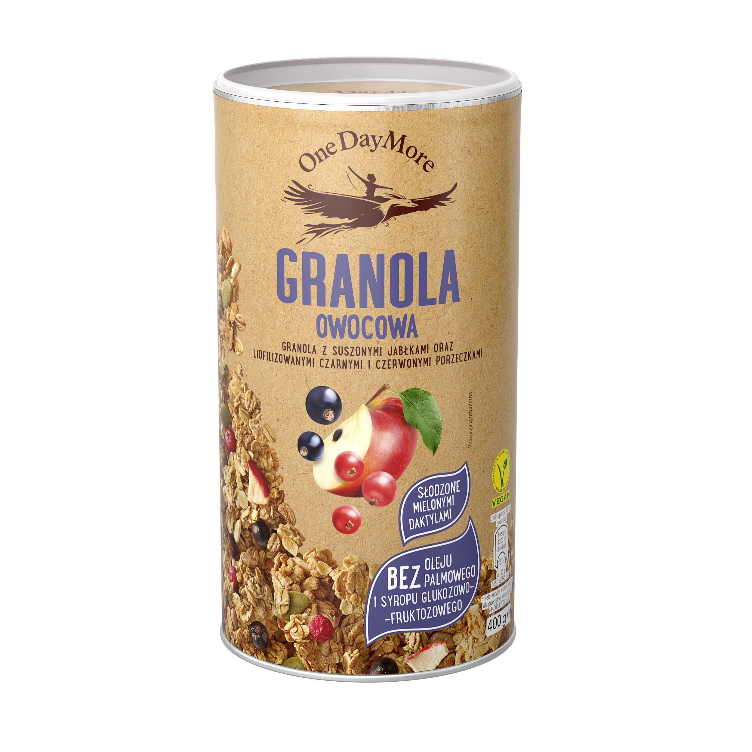 One Day More Granola Owocowa