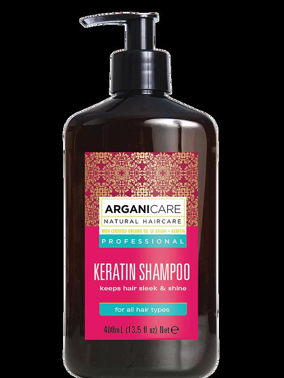 Arganicare szampon keratynowy