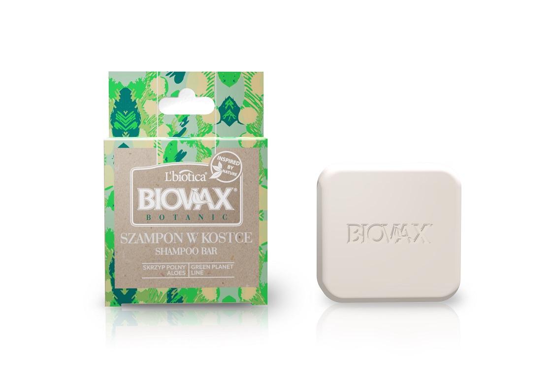 Szampony w kostce Biovax Botanix skrzyp polny, aloes