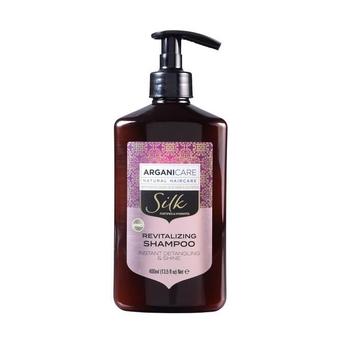 Arganicare szampon do włosów z jedwabiem