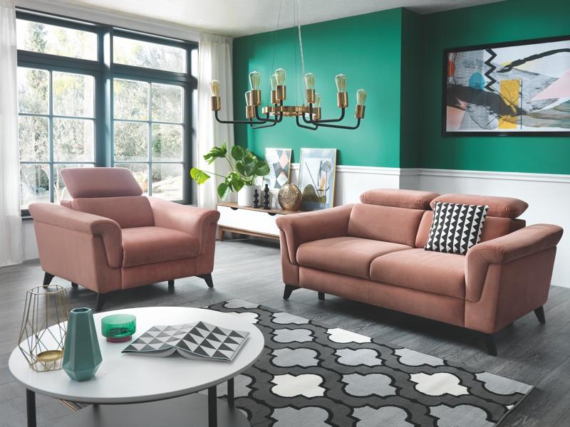 WAJNERT MEBLE. Fotel i sofa Hampton