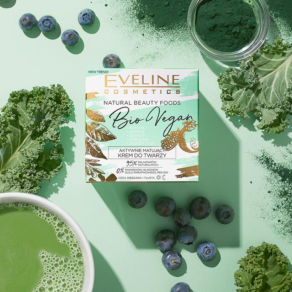 aktywnie matujący krem do twarzy Natural Beauty Foods BioVegan